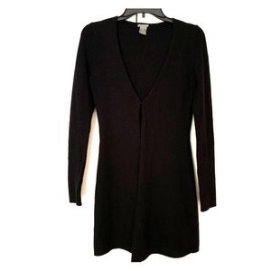 Black Long Ann Taylor Sweater